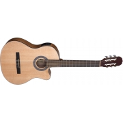 VIOLÃO CLÁSSICO SHELBY CUTWAY CPT AT SN61C STNT