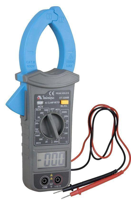 ALICATE AMP. MINIPA ET-3200B