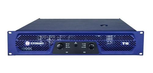 AMPLIFICADOR CROWN T10 2700W 4R