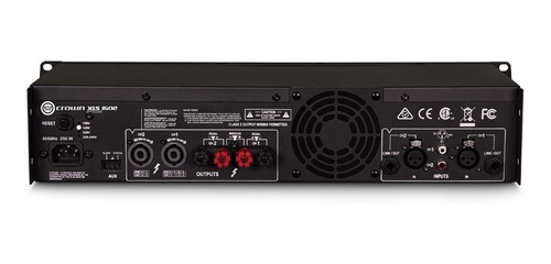 AMPLIFICADOR CROWN XLS 1502 220V (28930139)
