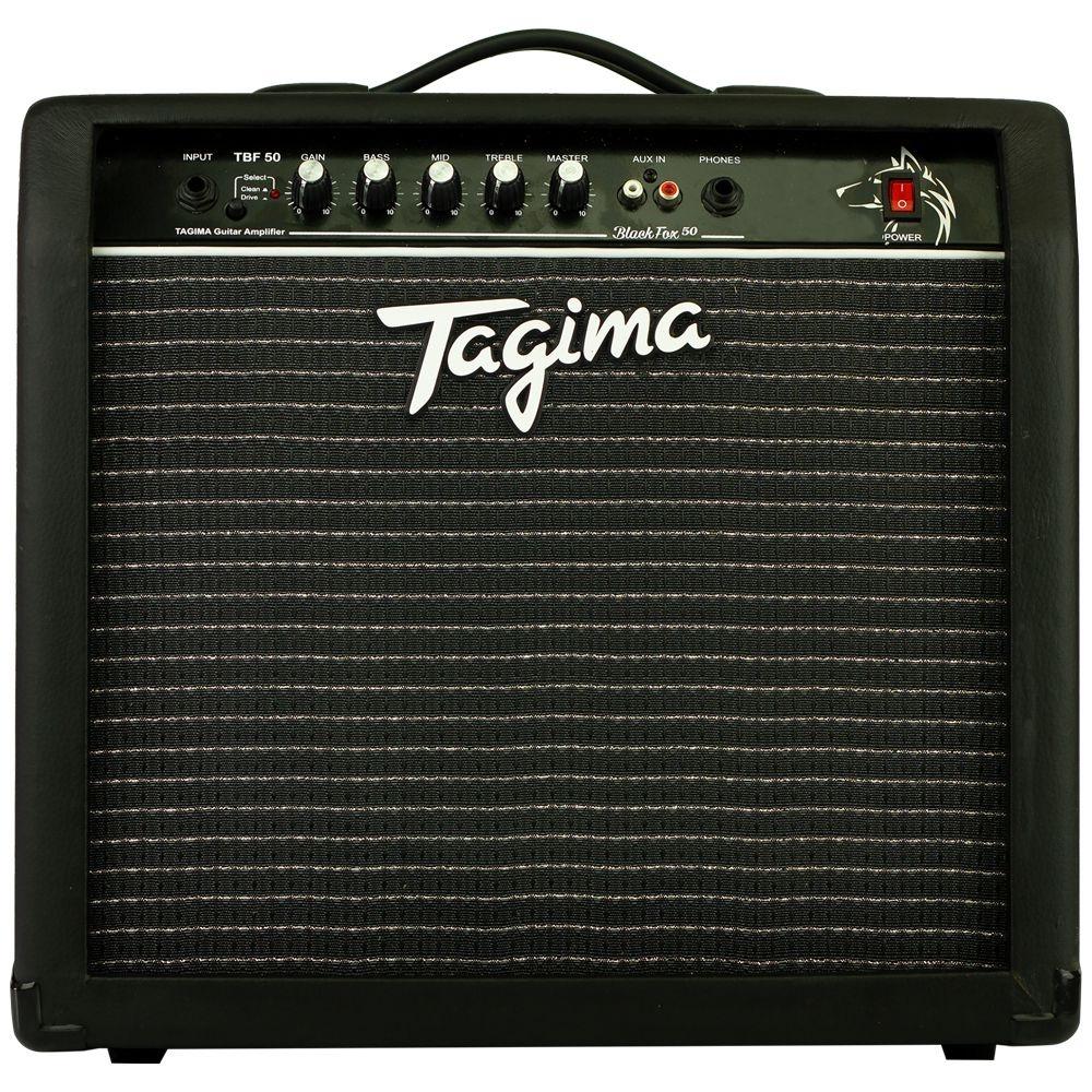 AMPLIFICADOR TAGIMA P/ GUITARRA BLACK FOX 50 (TBF 50 - BK)