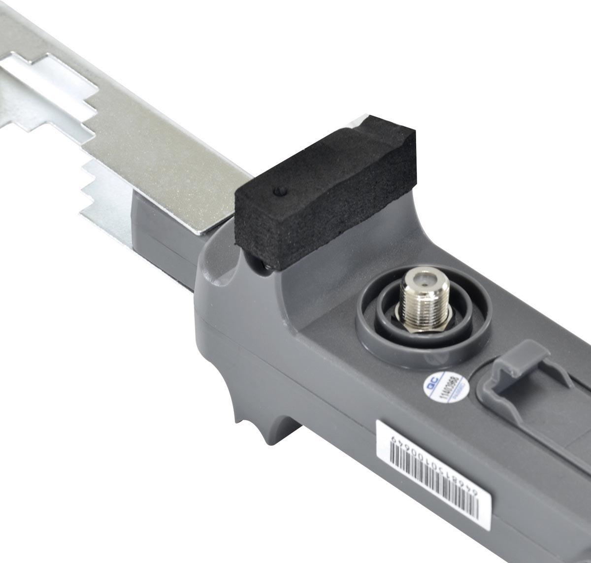 ANTENA EXTERNA DIGITAL FULL HD PARA TV  - HDTV/UHF/VHF - HDO-10