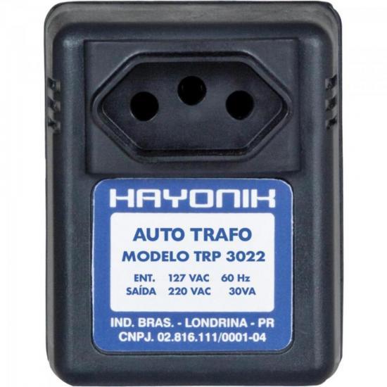 Auto Transformador Parede 127/220VAC 30VA TRP 3022 Preto HAYONIK