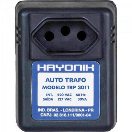Auto Transformador Parede 220/127VAC 30VA TRP 3011 Preto HAYONIK