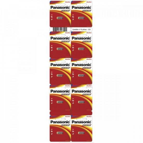 Bateria Alcalina 12V LR-V08-1B PANASONIC - BLI / 10