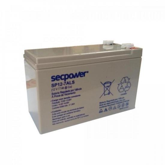 Bateria de Chumbo Ácida VRLA SP12-7ALS SECPOWER