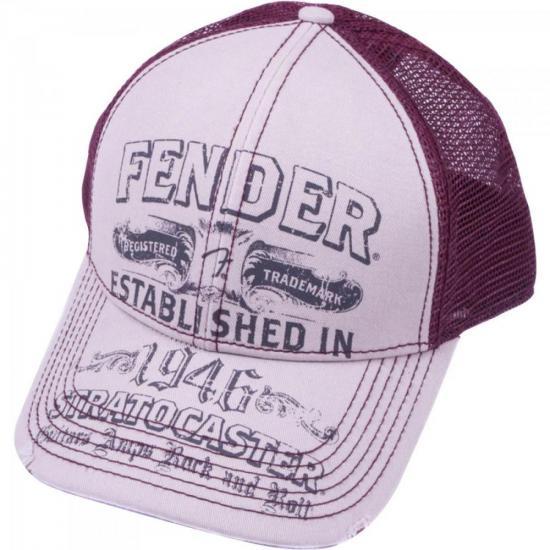 Boné Logo Stratocaster Trucker FENDER