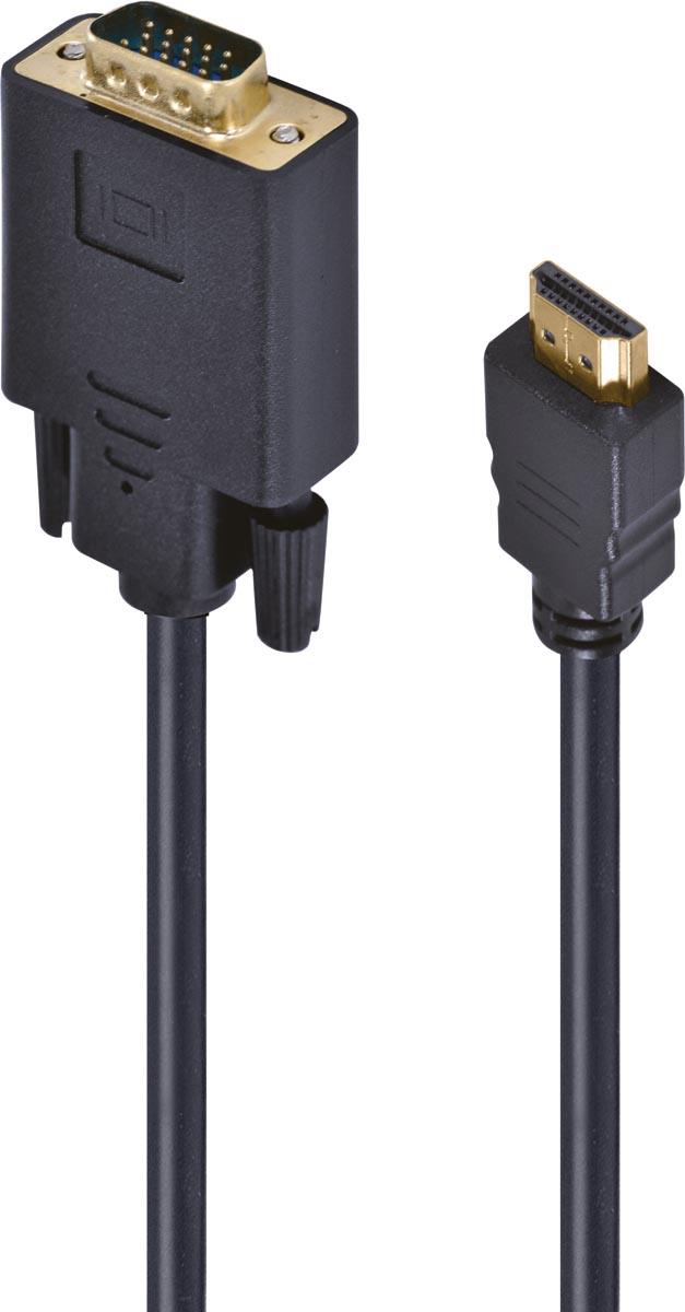 CABO CONVERSOR HDMI X VGA 1080I 30CM