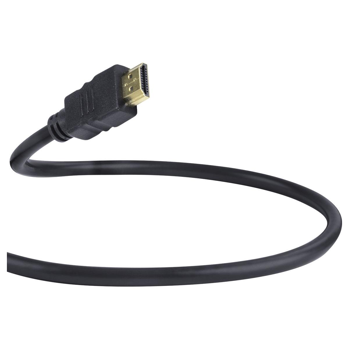 CABO HDMI 2.0 PARA MICRO HDMI 4K ULTRA HD 3D CONEXÃO ETHERNET 2 METROS - H20MC-2