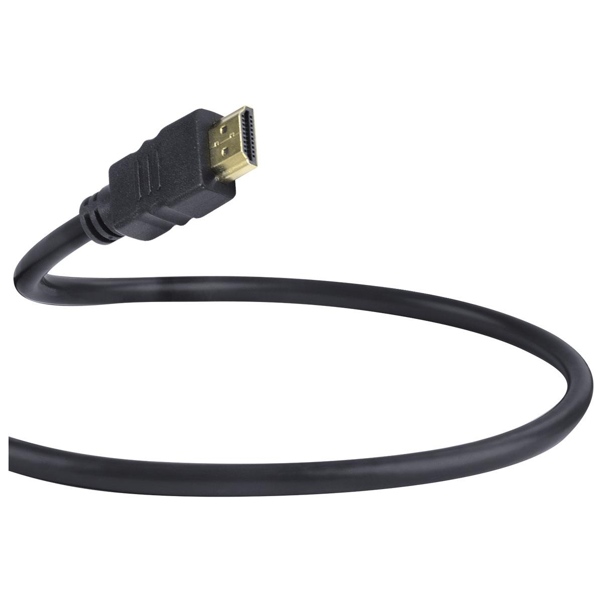 CABO HDMI 2.0 PARA MINI HDMI 4K ULTRA HD 3D CONEXÃO ETHERNET 2 METROS - H20MM-2