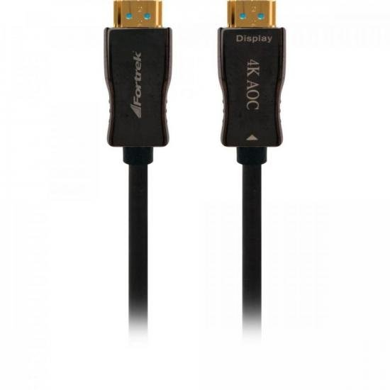 Cabo HDMI Fibra Optica 2.0 4K HFO220 20M FORTREK