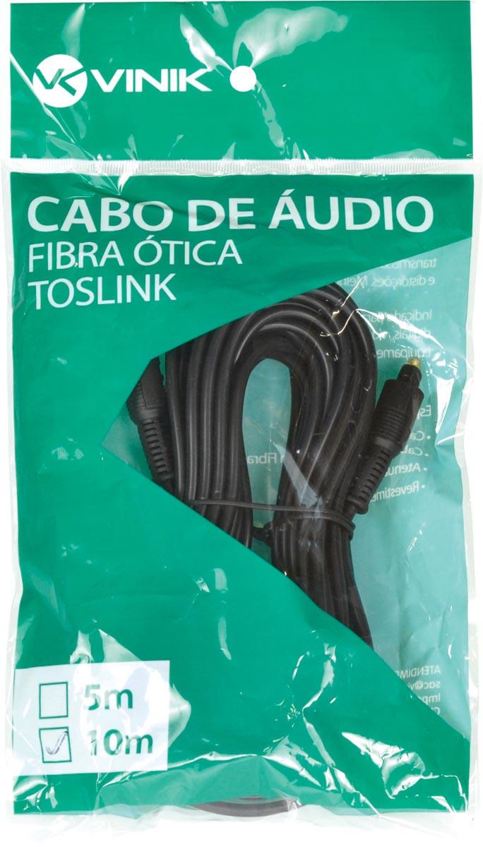 CABO ÓPTICO DE ÁUDIO TOSLINK 10 METROS ATC-10