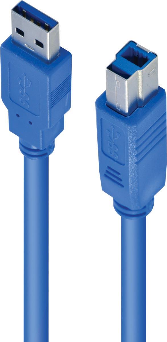 CABO USB PARA IMPRESSORA 3.0 USB A X USB B 2M - U3AMBM-2