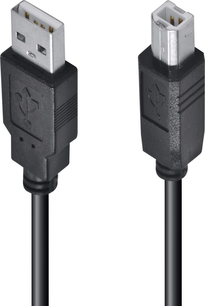 CABO USB PARA IMPRESSORA A MACHO X B MACHO 2.0 - 5M UAMBM-5 - PC / 10