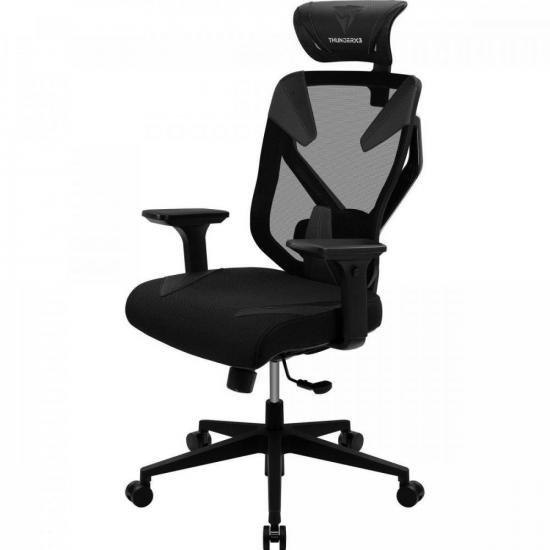 Cadeira Ergonomica Yama3 Preta THUNDERX3