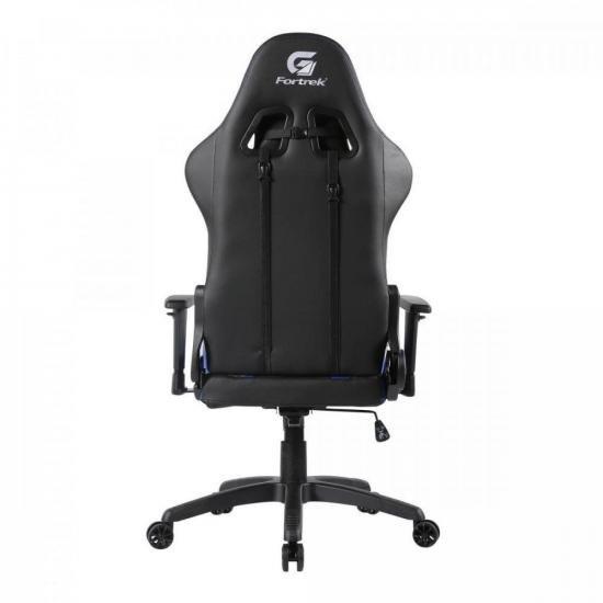 Cadeira Gamer Cruiser Preta/Azul FORTREK