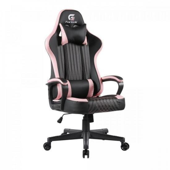 Cadeira Gamer Vickers Preta/Rosa FORTREK