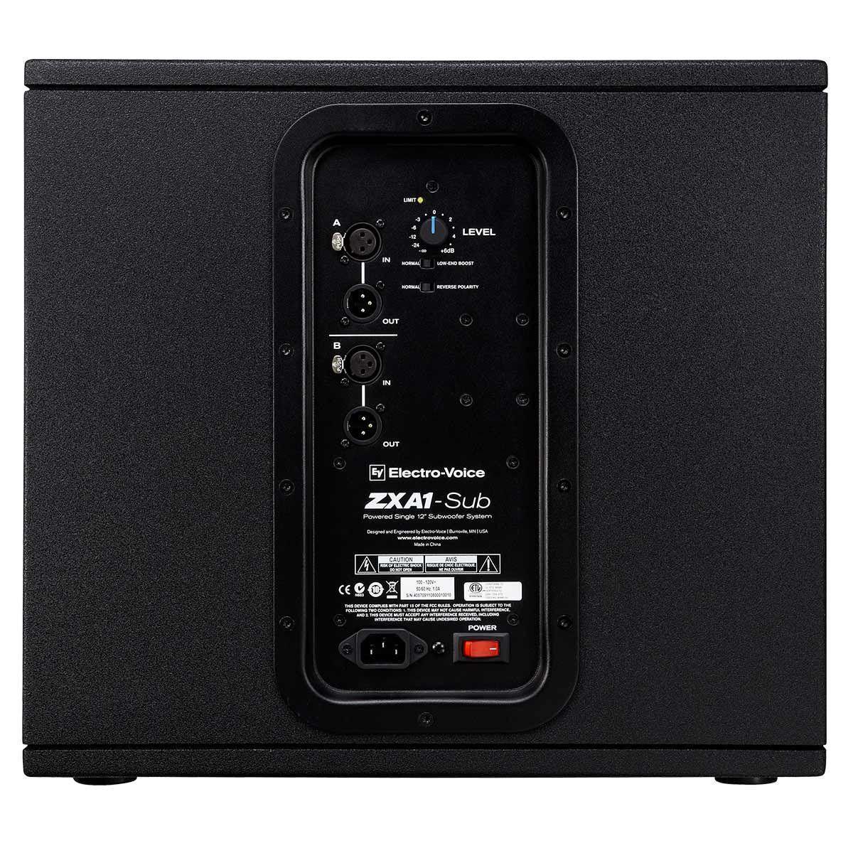 CAIXA ACUSTICA SUB 12'' ELECTRO VOICE ZXA1-700W