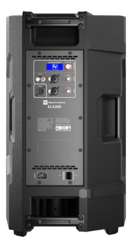 "CAIXA ATIVA ELECTRO VOICE ELX200-12P-GL 12"""