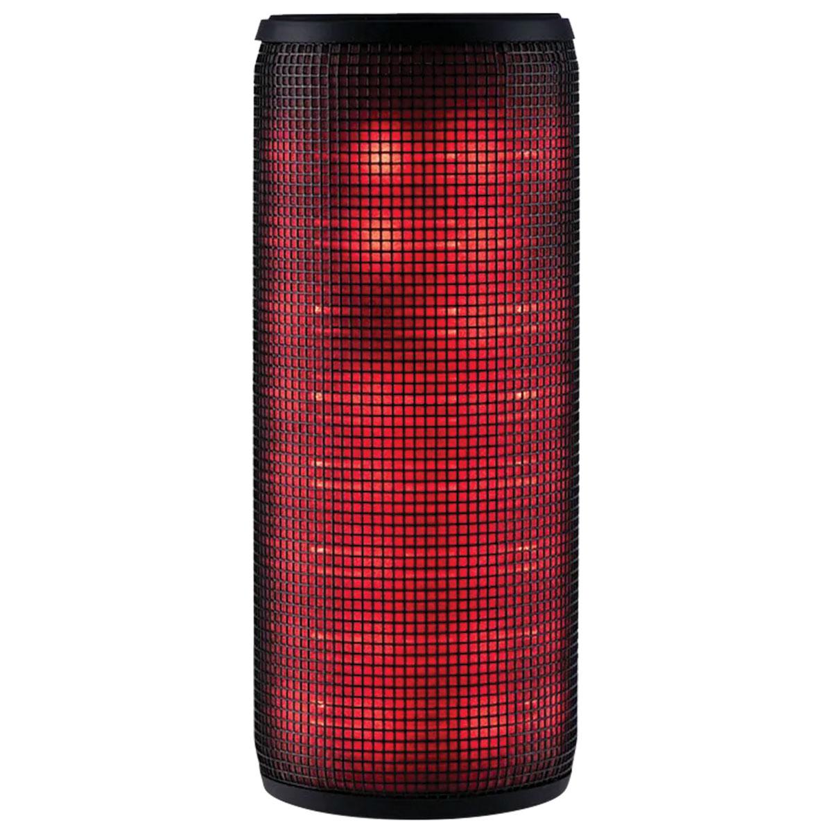 CAIXA DE SOM LED BLUETOOTH 10W USB/SD/AUX PRETO SP304