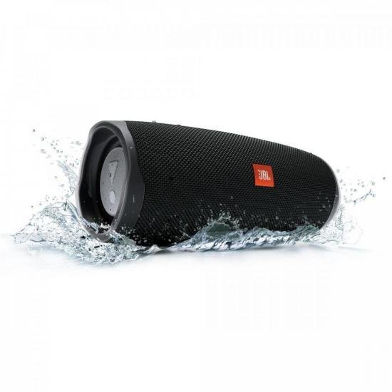 Caixa Multimídia Portátil Bluetooth Charge 4 Preta JBL