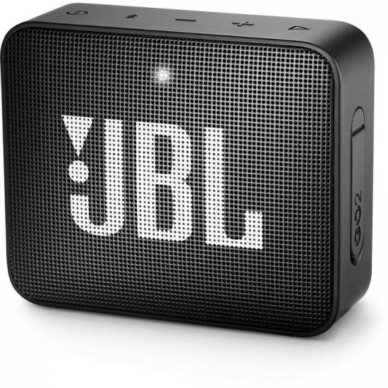 Caixa Multimídia Portátil Bluetooth GO 2 Preta JBL