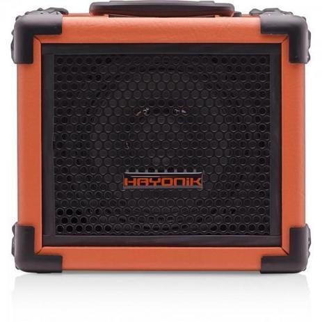 CAIXA MULTIUSO IRON 80 20W USB/SD/BLUET/FM LARANJA HAYONIK (58198)