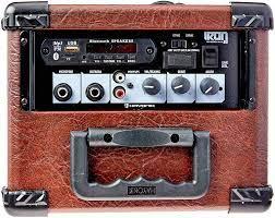 CAIXA MULTIUSO IRON 80 20W USB/SD/BLUET/FM MARRON HAYONIK (58199)