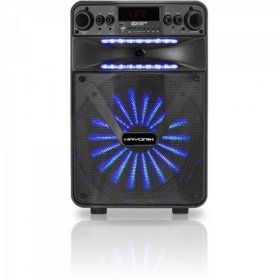 Caixa Multiuso Portátil Bluetooth/MicroSD/USB/FM 100W GO!POWER 200 HAYONIK