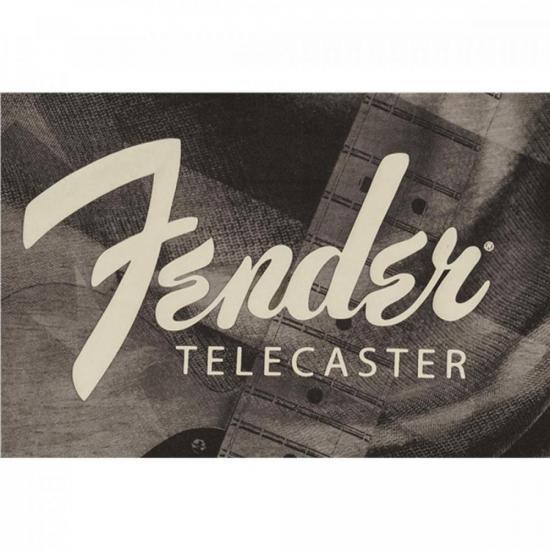 """Camiseta Telecaster Belt Print """"M"""" FENDER"""