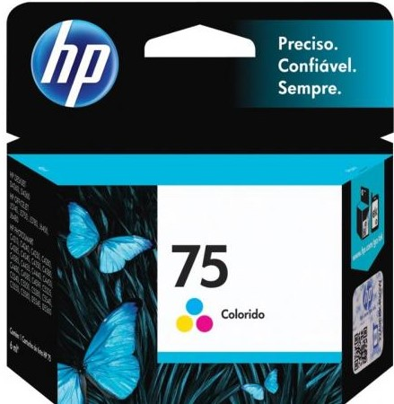 CARTUCHO DE TINTA CB337WB HP 75 COLOR