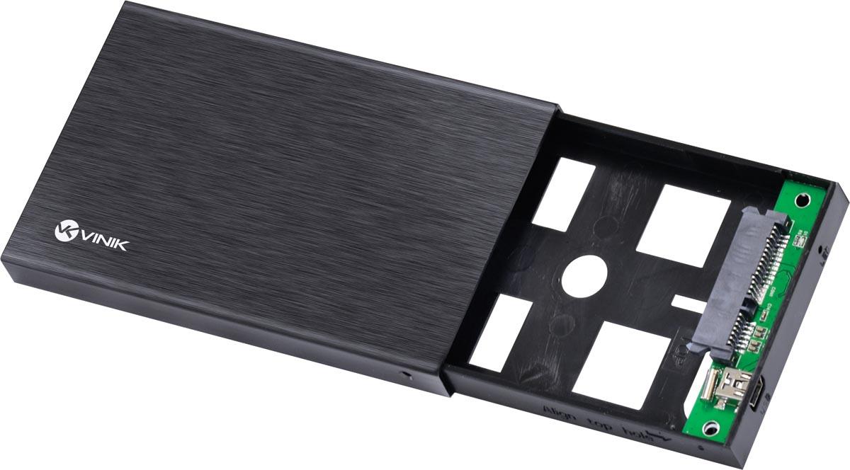 "CASE EXTERNO PARA HD 2.5"" ALUMÍNIO USB 2.0 - CHDA-100"