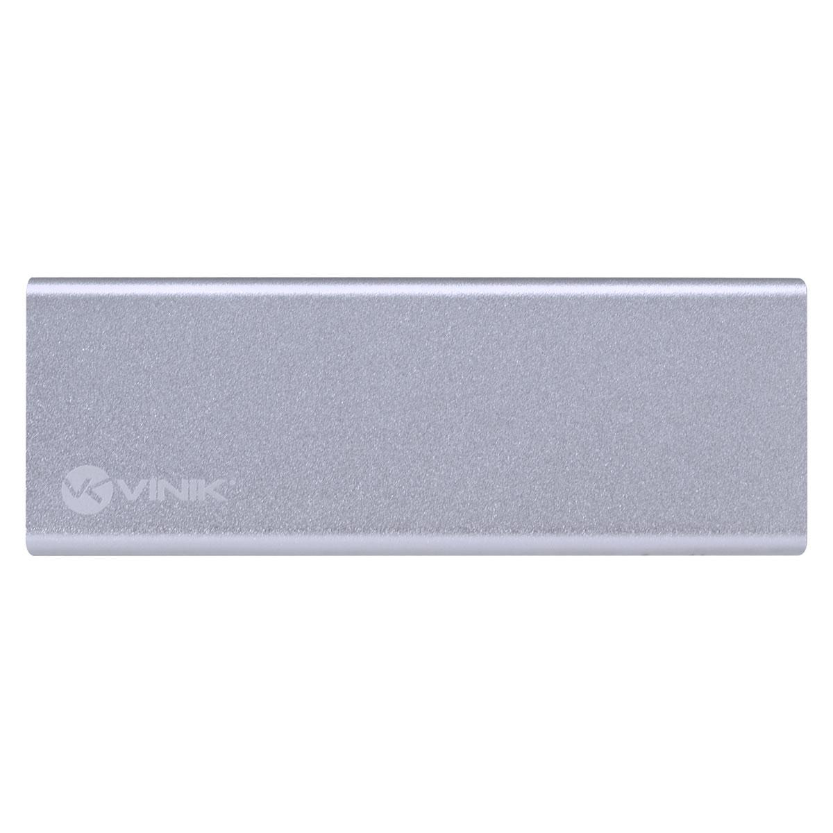 CASE EXTERNO PARA SSD M.2 CONEXÃO USB 3.0 - USB TIPO C/TYPE C PARA USB - CS25-C30