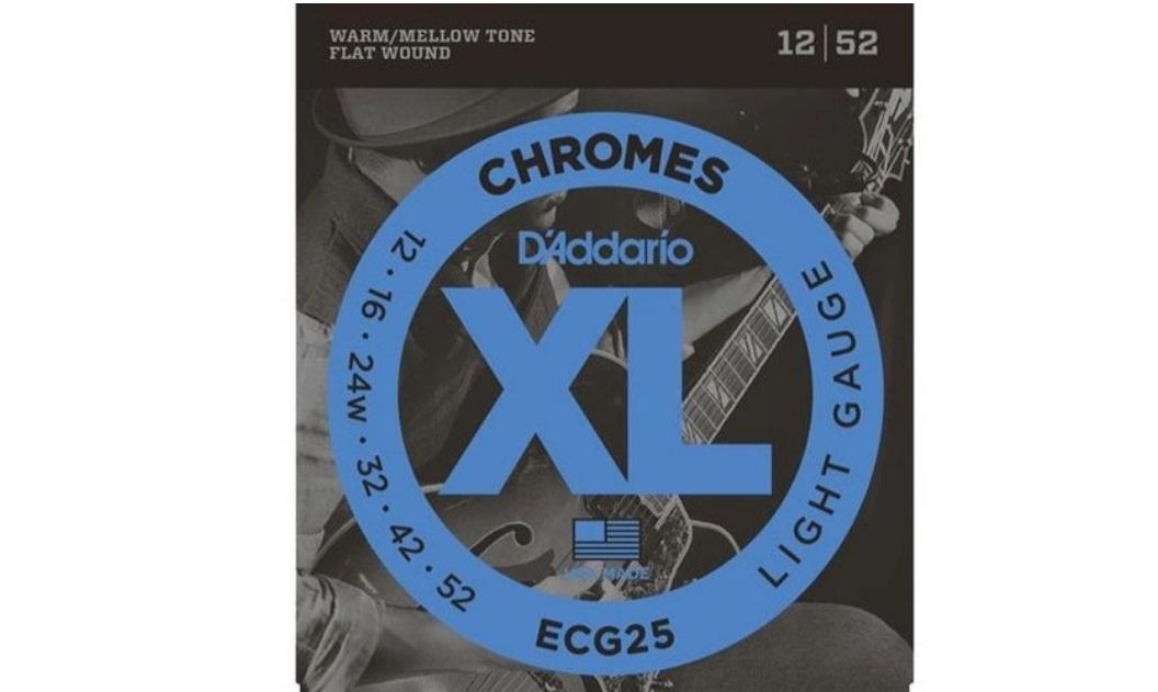 CORDA DADDARIO GUITARRA ECG25 012/052 CHROMES LIGHT