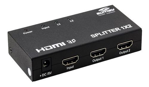 DISTRIBUIDOR HDMI SUMAY 1E X 2S SM-SP02 (391)