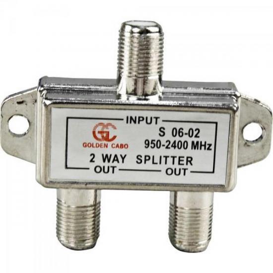 Divisor Satélite 1/2 900-2400 MHz GENÉRICO - DEZ / 10
