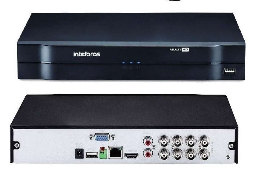 DVR 8CH MULTI-HD INTELBRAS MHDX 1108