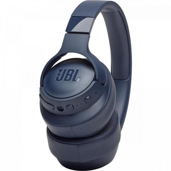 Fone de Ouvido Bluetooth 40mm Tune 750BTNC Azul JBL