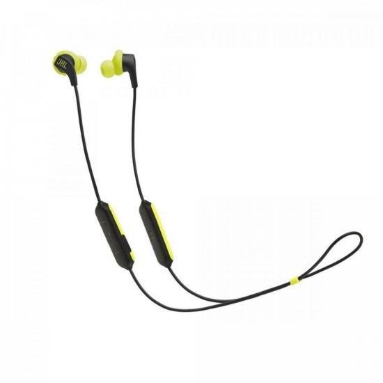 Fone de Ouvido Bluetooth Endurance Run Preto/Amarelo JBL