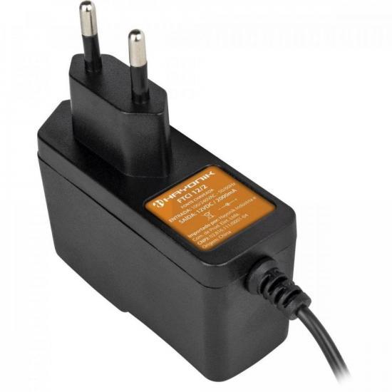 Fonte Chaveada 12VDC 2A FTCI 12/2A Bivolt Importada HAYONIK