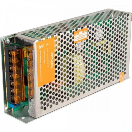 Fonte Colmeia 12VDC 15A 180W Bivolt Manual FTC1215 HAYONIK