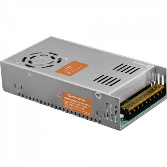 Fonte Colmeia 12VDC 30A 360W Bivolt Manual FTC1230 HAYONIK