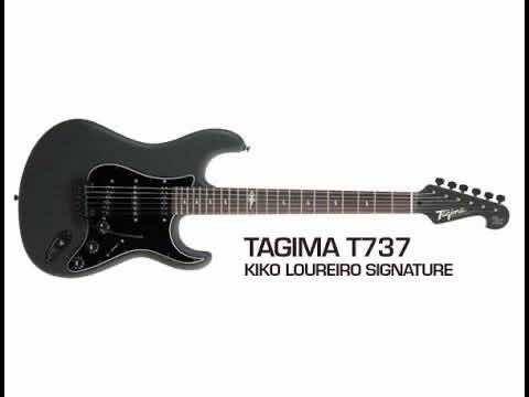 GUITARRA TAGIMA SIGN KIKO LOUREIRO T-737 C/ CASE