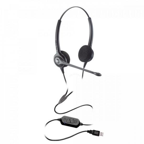 Headset Biauricular Epko Noise Cancelling Preto FELITRON