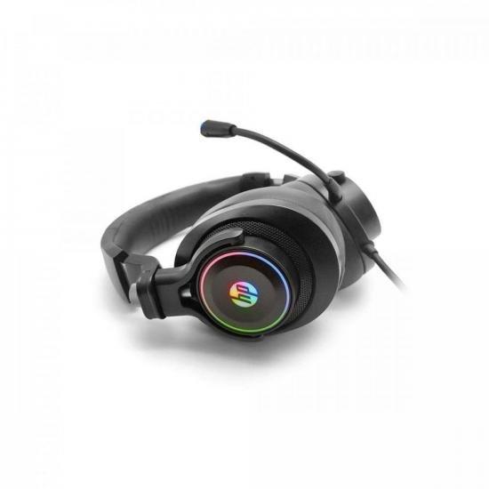 Headset Gamer 7.1 RGB USB H500GS Preto HP