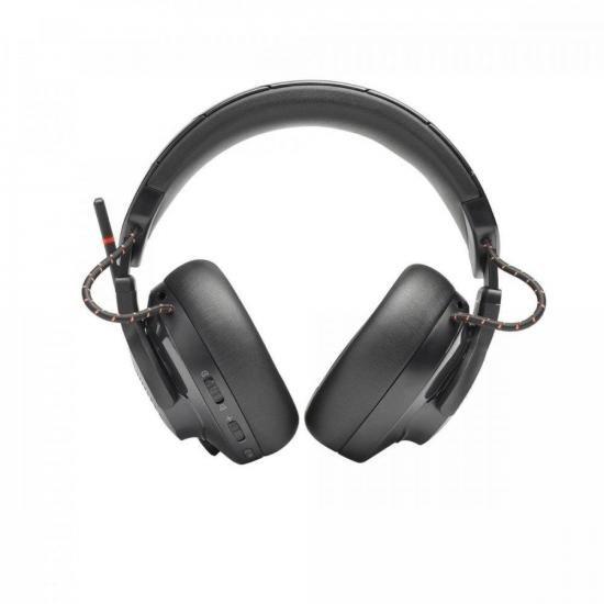 Headset Gamer sem Fio RGB Quantum 600 Preto JBL