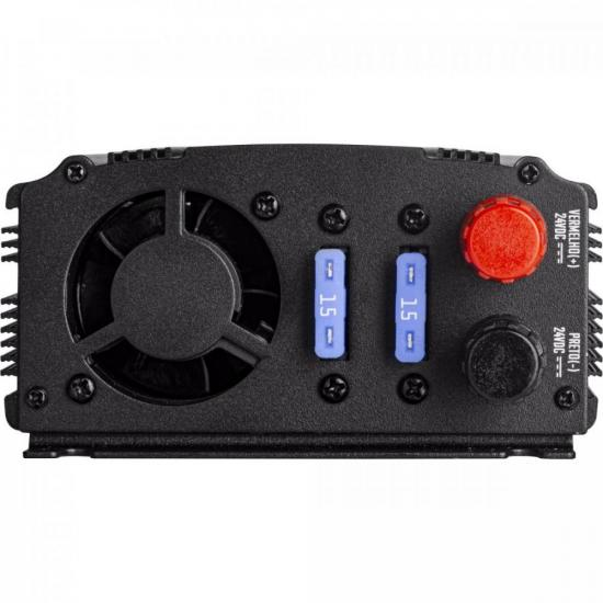 Inversor de Onda Modificada 500W 24VDC/127V USB HAYONIK