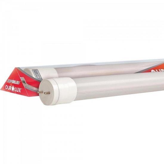 Lâmpada LED 40W Bivolt 6.400K Superled Tube Ho Vidro Branca OUROLUX