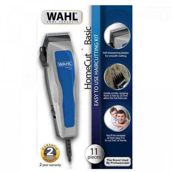 Máquina de Corte 127V Home Cut Cinza/Azul WAHL