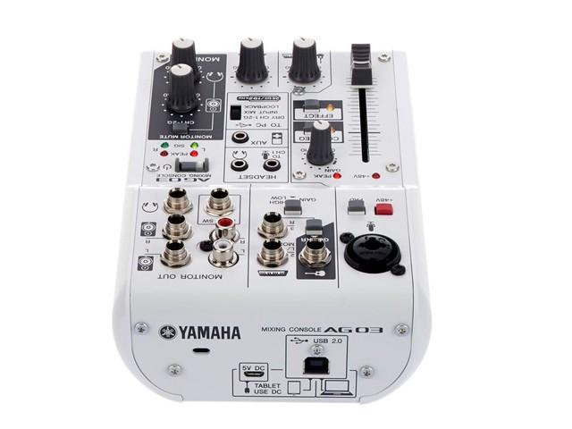 MESA DE SOM YAMAHA AG03  ZP32550